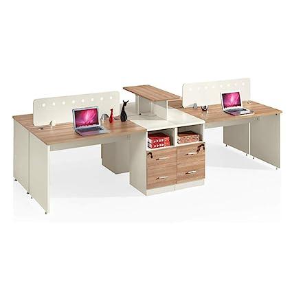 Office Cross Design Madera Modular Cubicle Workstation partición ...