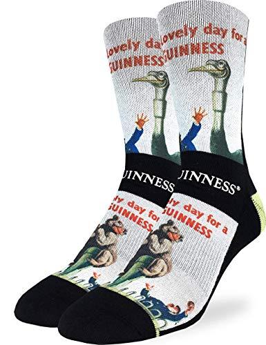 - Good Luck Sock Men's Lovely Day for a Guinness Bear Socks - Shoe Size 8-13