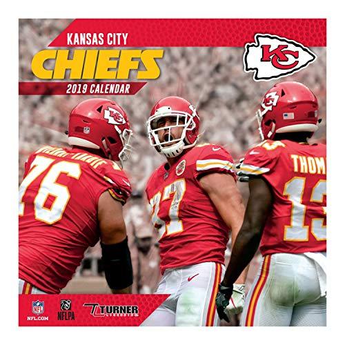 2019 Kansas City Chiefs 12 x 12 Team Wall Calendar