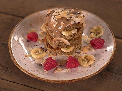 Chunky Monkey Banana Pancakes (Healthy Chunky)