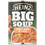 Heinz Big Soup Chicken and Vegetable, 400 g (Pack of 12)