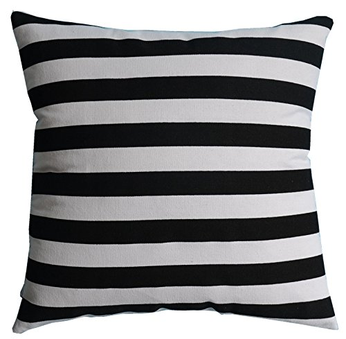 Multi-sized Both Sides Striped Printed Cushion Cover LivebyCare Linen Cotton Throw Pillow Case Sham Pattern Zipper Pillowslip Pillowcase For Decor Decorative Dinning Room Kitchen 28' Insert