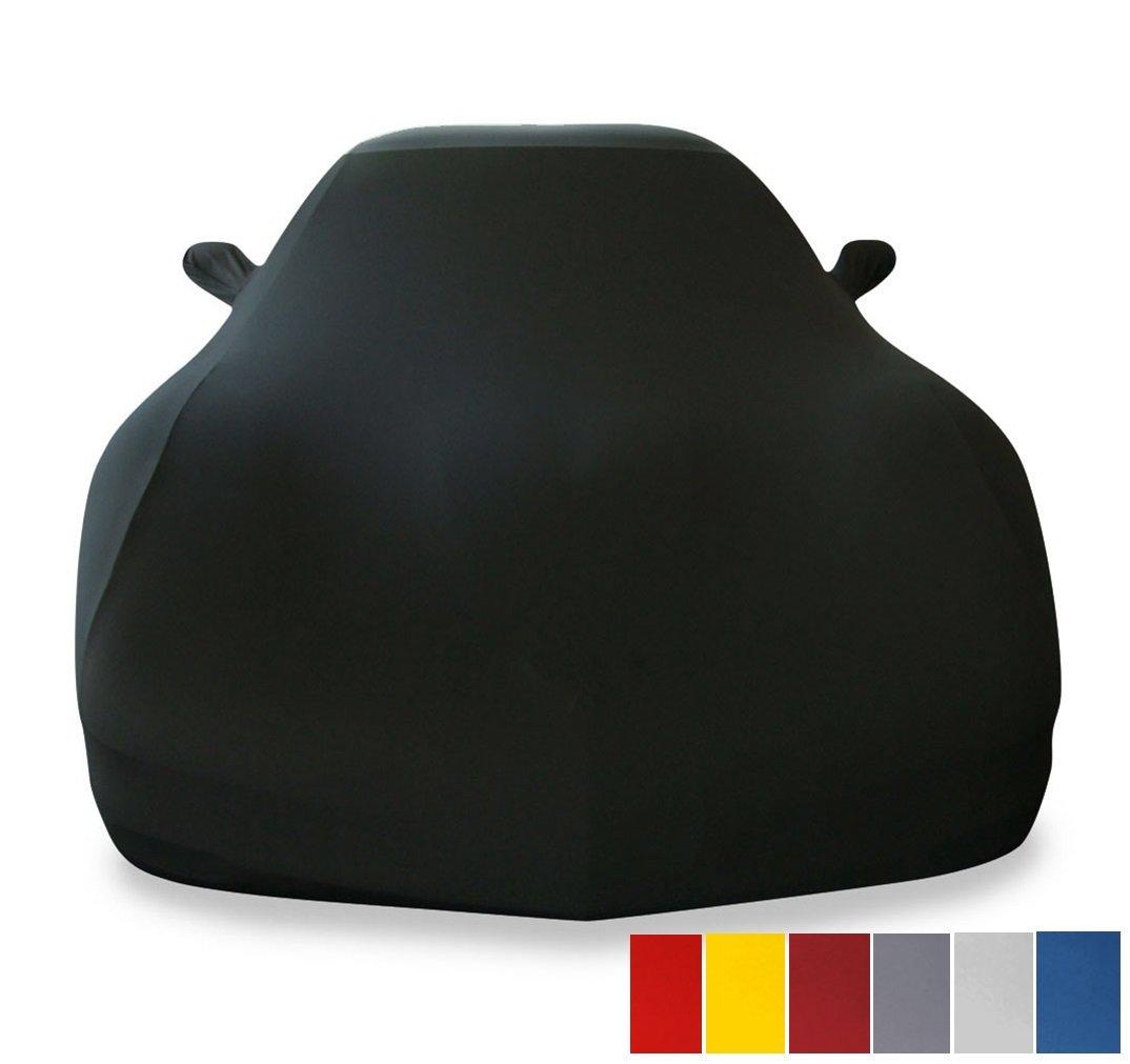 車カバー 室内用ウルトラガードストレッチサテン製 ブラック 17176401 B00Y1PL4OQ ブラック ブラック