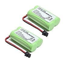 2x Masione 1600mAh Cordless Phone Battery For Uniden BT1007 BT-1007 BT904 BP904 BT1015