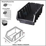 XXL size black ERGO-Box storage bin, 3 colours and 6 size available by Patrol