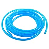 5 8 clear hose - uxcell 5M 5x8mm Air Compressor Fuel Gas Diesel PU Line Tube Hose Clear Blue