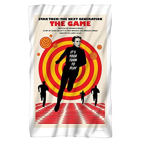 Star Trek: The Next Generation The Game Juan Ortiz Poster Fleece Blanket -