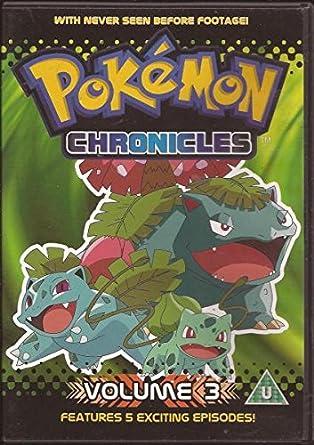 Amazon.com: POKEMON CHRONICLES VOLUME 3 - Very Good ...