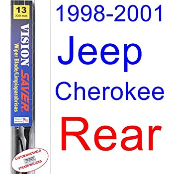 1998-2001 Jeep Cherokee Wiper Blade (Rear) (Saver Automotive Products-Vision