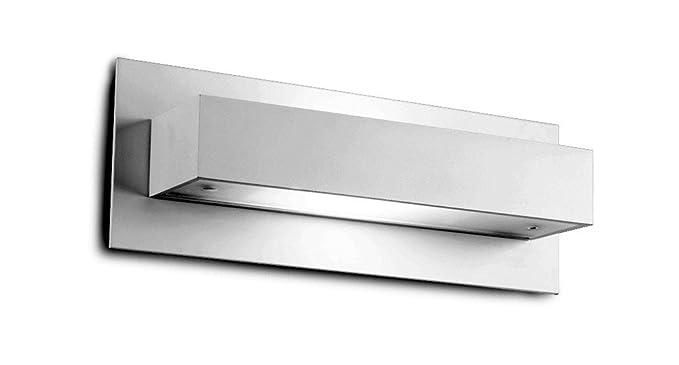 Grok lampada da parete per interni in alluminio con vetro