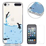 Best Bird Cases For IPod Touches - iPod Touch 5/6 Silicone Gel Case,CaseHome Clear Soft Review