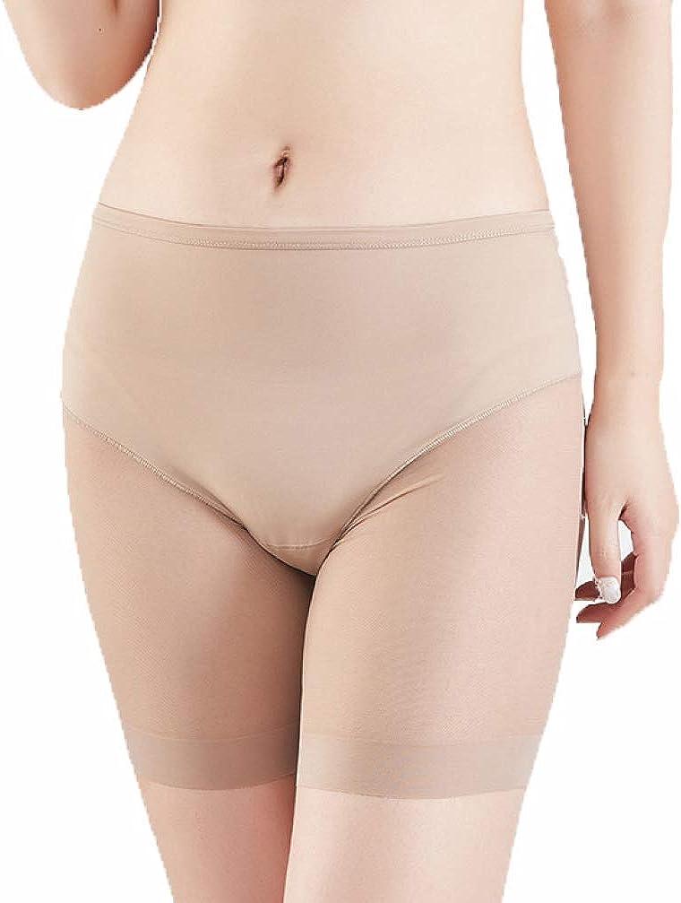 Women Mesh Panties Tummy Control Briefs UnderwearShaping Underpants Sanwood