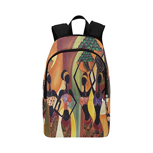 your-fantasia Africa Women Unisex Casual Daypack Travel Backpack Waterproof Nylon by your-fantasia