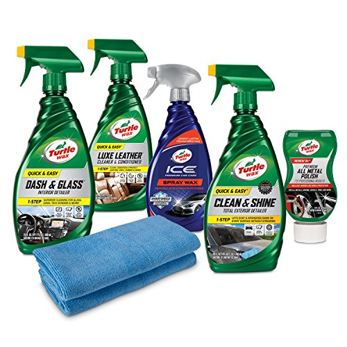 Turtle Wax 50751 Ultimate Motorcycle Cleaning Kit, 96. Fluid_Ounces