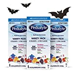 Pedialyte Electrolyte Powder, Variety Pack, Electrolyte Hydration Drink, 0.3 oz Powder Packs, 24 Count