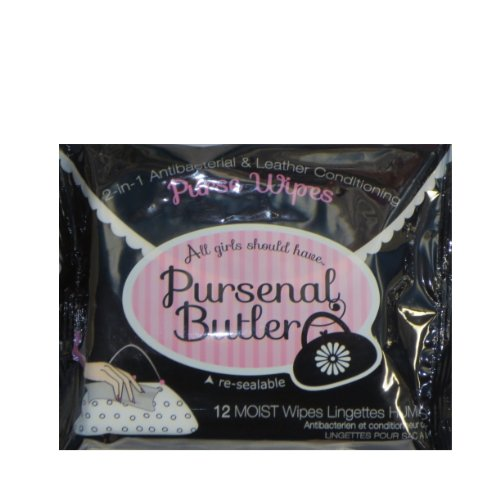 Pursenal Butler Anti Bacterial Purse And Leather Cleaning And Conditioning Wipes (1)