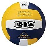 Tachikara Sensi-Tec Composite High Performance Volleyball, Navy/White/Gold