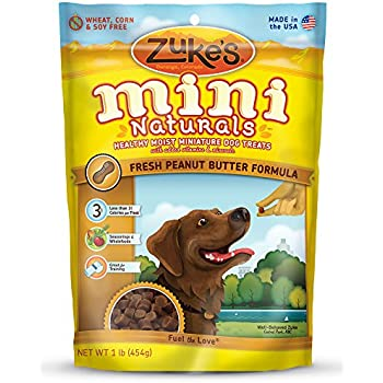 Zuke S Mini Naturals Dog Treats Fresh Peanut Butter Recipe