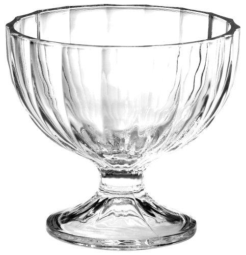 Bormioli Glass Bowls - Bormioli Rocco Alaska  Dessert Bowls, Set of 6