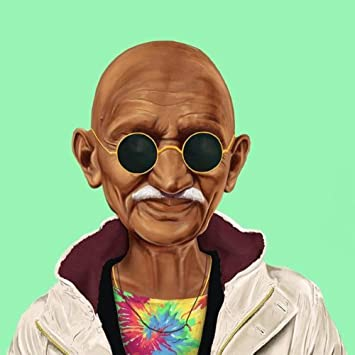 Amazonmahatma Gandhi India Peace Hipster Cool Home Decor Art