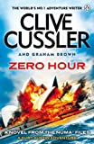 Front cover for the book Zero Hour by Clive Cussler