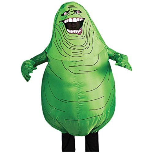 Marshmallow Man Inflatable Adult Costumes (880487 Slimer Costume Inflatable Ghostbusters Slimer)