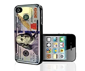 100 Dollar Bill Money Hard Snap on Phone Case (iPhone 4/4s)