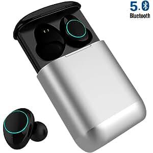 Auriculares Bluetooth Huyeta Auriculares Verdaderamente Inalámbricos Mini Auriculares In-Ear