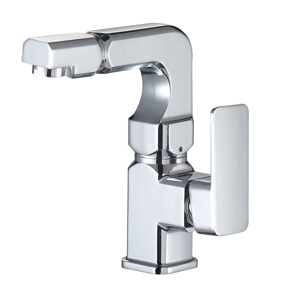 Lpophy Bathroom Sink Mixer Taps Faucet Bath Waterfall Cold and Hot Water Tap for Washroom Bathroom and Kitchen Hot and Cold redatable 360 ??Full Copper Spool