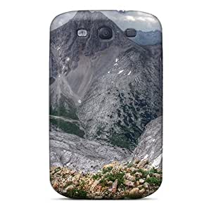 Premium Galaxy S3 Case - Protective Skin - High Quality For Fantastic Mountainscape Hdr