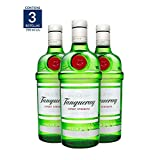 Ginebra Tanqueray London Dry - 750 ml (Paquete de 3 botellas)
