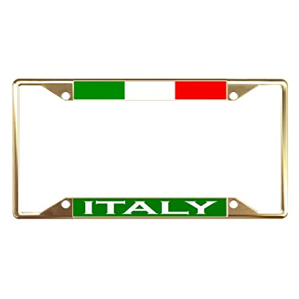 Italy License Plate Frames - Best Plate 2017
