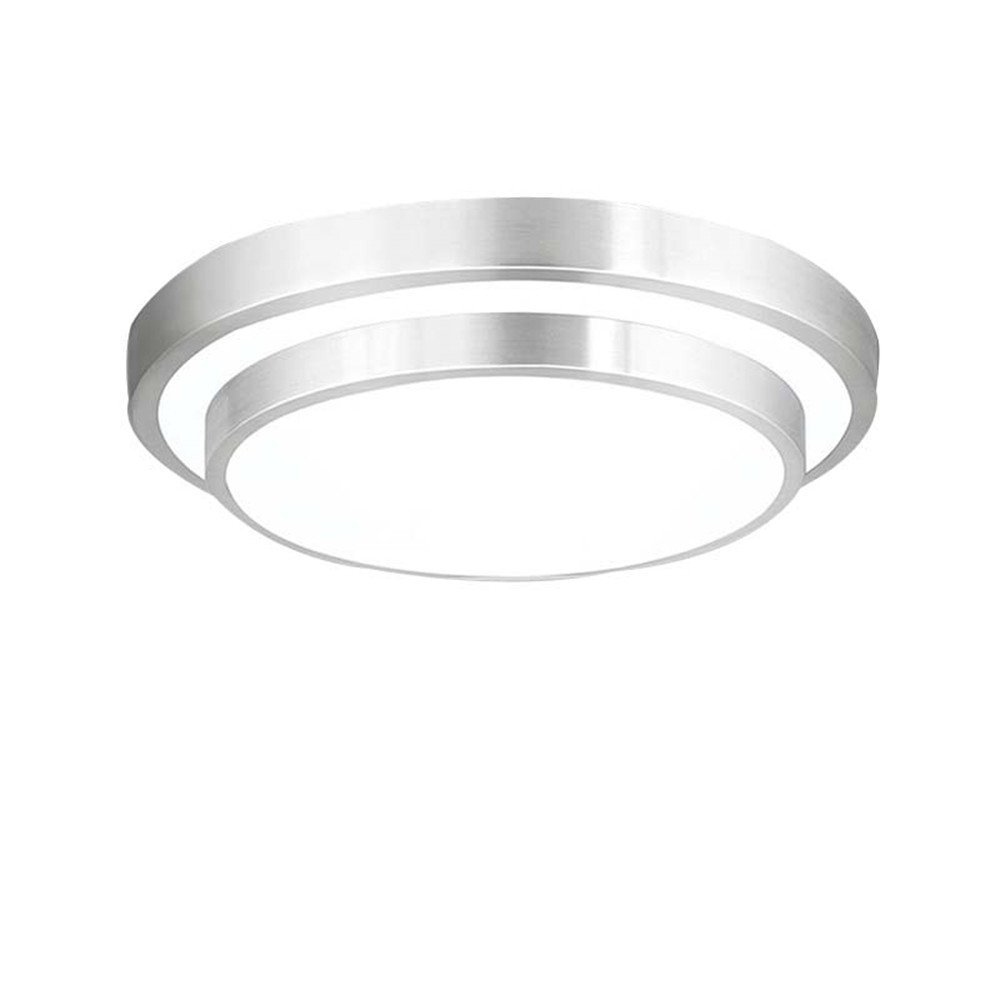 AFSEMOS 18W Ceiling Light Fixtures,Modern Ceiling Lamps,9-Inch LED Flush Mount Ceiling Lights,for Kitchen,Living Room,Bathroom,Bedroom,Laundry Room Lighting 1600LM,Cool White Bright