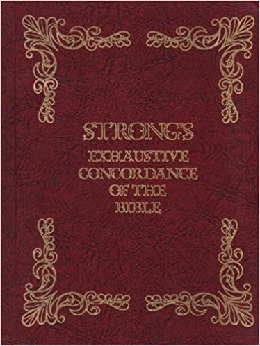 Strong S Exhaustive Concordance Of The Bible With Hebrew