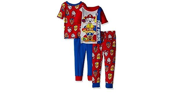 Nickelodeon Varones Juego de pijama - Rojo - 3 años: Amazon.es: Ropa y accesorios