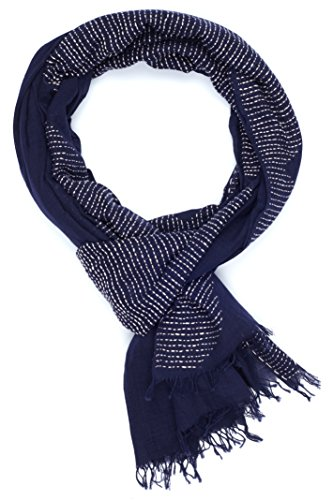 Giza - Navy by Indigo Handloom Inc.