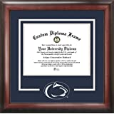 Professional//Doctor Sculpted Foil Seal Signature Announcements Kean University Undergraduate Matte Mahogany 16 x 16 Name /& Tassel Graduation Diploma Frame