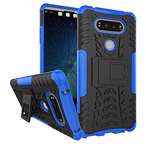 Case LG V20, Kehon LG V20 Cell Phone Covers Dual Layer Hybrid Case Shockproof with Built-in Kickstand Impact Resistant Military Grade Drop Tested Holster Defender Case for LG V20 Cell (Military Cell Phone Covers)
