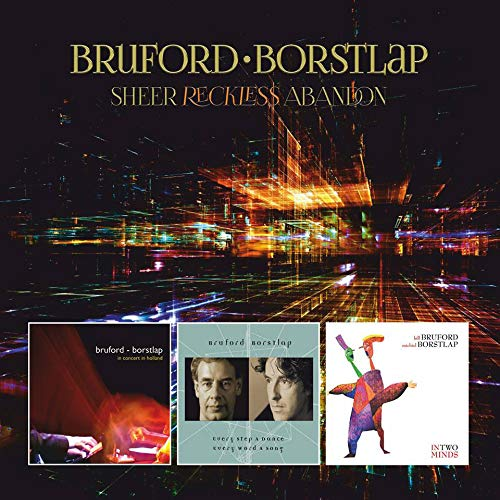 CD : BRUFORD / BORSTLAP - Sheer Reckless Abandon (With DVD, Expanded Version, United Kingdom - Import, NTSC Region 0)