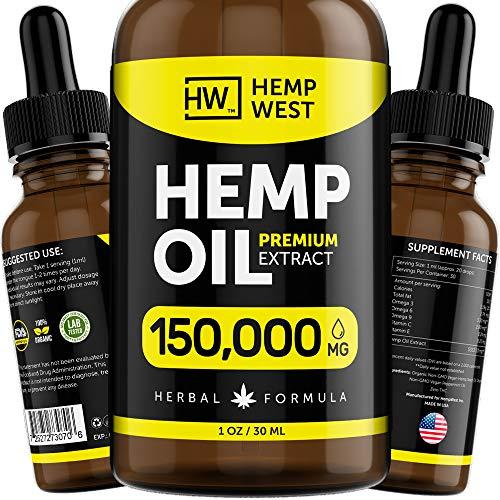 Hemp Oil 150000 MG