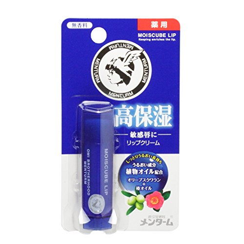 OMI Corp MENTURM Lip Cream MOISCUBE LIP Unscented 4g (Japan Import)