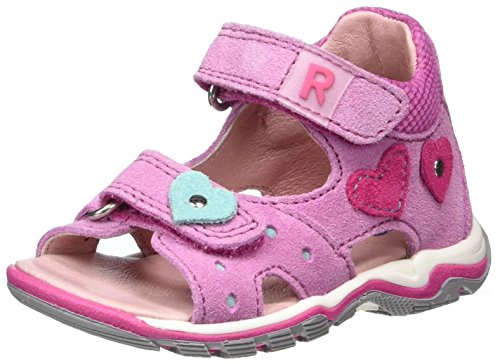 Richter Kinderschuhe Jumbo - Botas de senderismo Bebé-Niños Pink (candy/fuchsia/jade)