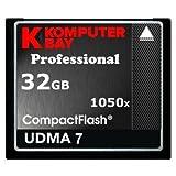 Komputerbay 32GB Professionelle Compact Flash Karte CF 1050X schreiben 100 MB / s lesen 160MB / s Extreme Speed UDMA 7 RAW 32 GB