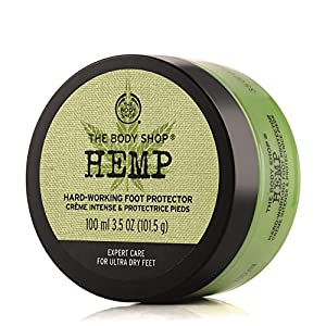 Hemp Foot Protector Cream For Very Dry Skin With H...