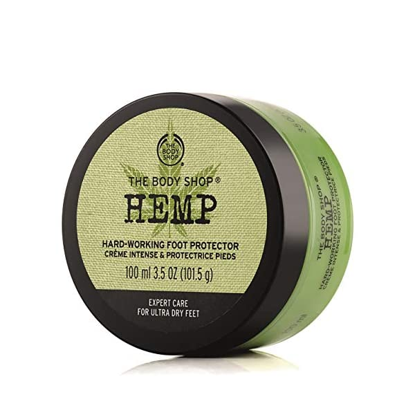 Hemp Foot Protector Cream For Very Dry Skin With Hemp Seed Oil