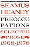 Preoccupations, Seamus Heaney, 0374516502