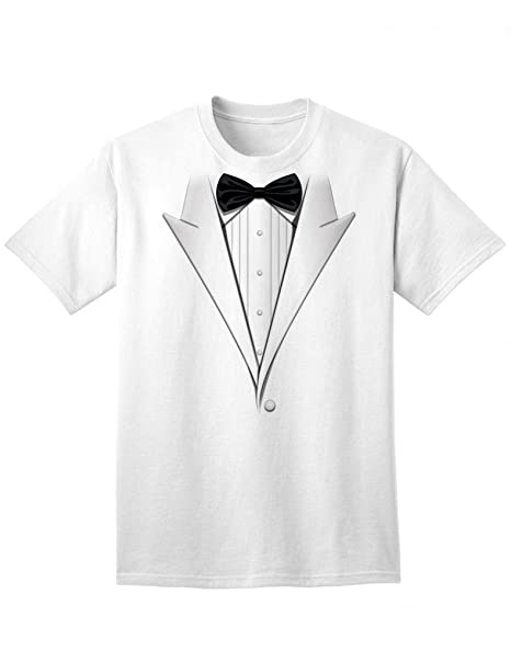 242031666 NDS Wear Tuxedo T-Shirt in Many Colors - Adult Unisex Tee   Amazon.com