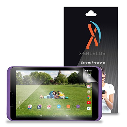 XShields© (2-Pack) Screen Protectors for Tesco Hudl 2 Tablet (Ultra Clear)