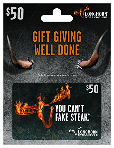 LongHorn Steakhouse $50 Gift ()