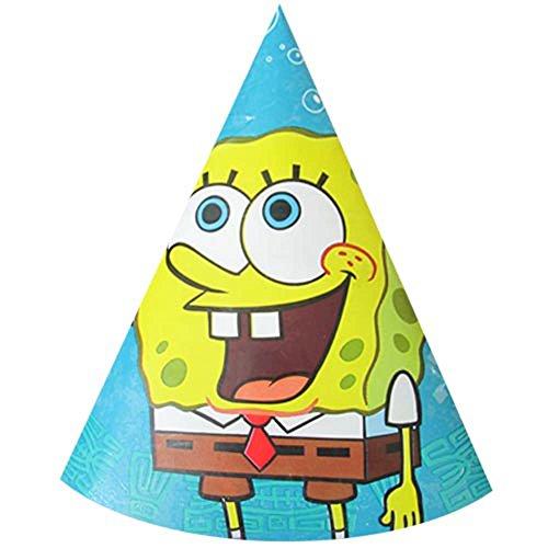 997650d974b Amazon.com  SpongeBob SquarePants Cone Hats (8ct)  Toys   Games